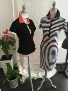 Šaty MOLO a polokošile BLACK