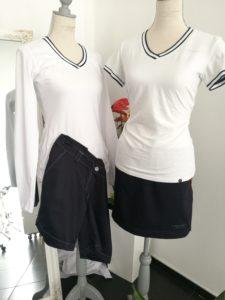 Tička, sukně a kalhoty