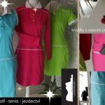 Šaty z úpletu MOLO